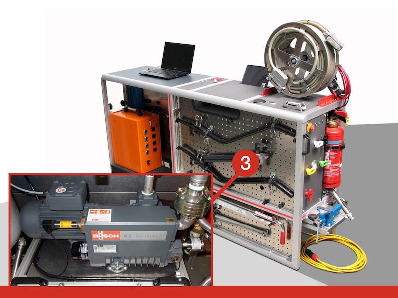 Pompe à vide module PSI ATEX - ITM Technologies