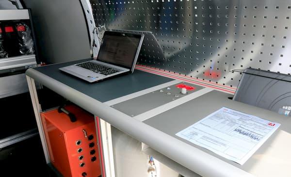 Certificats de tests d'étanchéité imprimés directement sur site