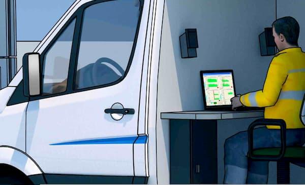 Pilotage informatisé du test d'étanchéité des réservoirs et tuyauteries
